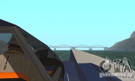 Powerboat для GTA San Andreas вид сзади