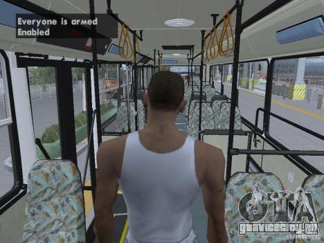 Ikarus 415 для GTA San Andreas салон