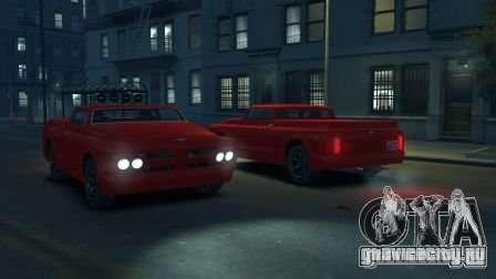 Slamvan для GTA 4 вид справа
