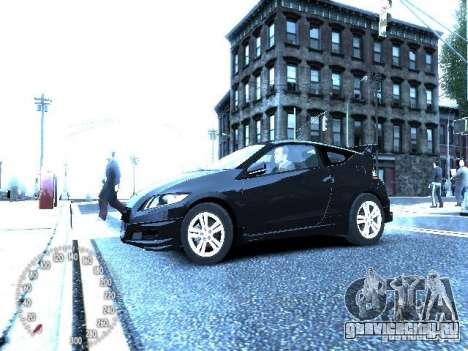 Honda Mugen CR-Z для GTA 4 вид справа