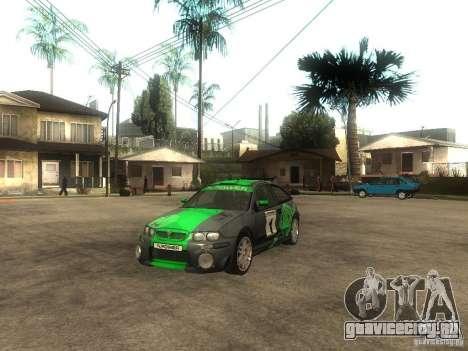 Rover MG ZR EX258 для GTA San Andreas