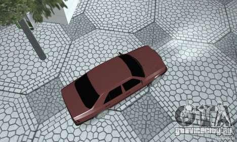 Mercedes-Benz 200D для GTA San Andreas вид сзади слева