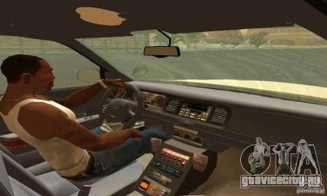 Ford Crown Victoria Puerto Rico Police для GTA San Andreas вид сзади слева
