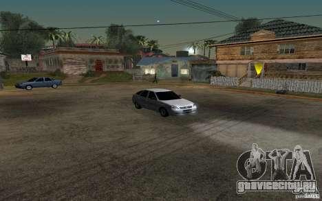Лада Приора light tuning хэтчбек для GTA San Andreas вид изнутри