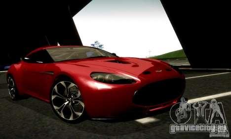 Aston Martin V12 Zagato Final для GTA San Andreas