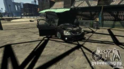 Ваз 2172 Приора Люкс для GTA 4 вид сбоку
