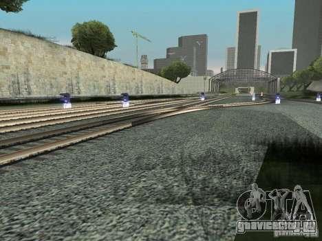 Железнодорожные светофоры для GTA San Andreas четвёртый скриншот