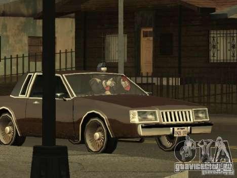 The Akatsuki gang для GTA San Andreas пятый скриншот