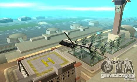 Police Maverick 2 для GTA San Andreas вид слева