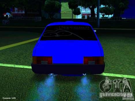 ВАЗ 21099 Турбо для GTA San Andreas вид справа