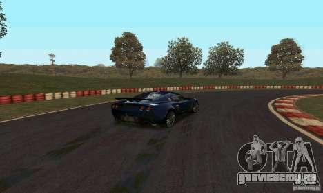 Трасса GOKART Route 2 для GTA San Andreas второй скриншот