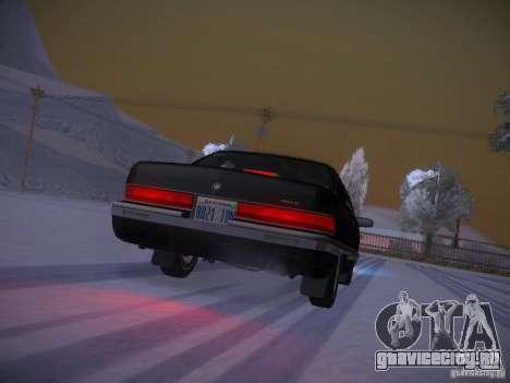 Buick Roadmaster 1996 для GTA San Andreas вид сверху