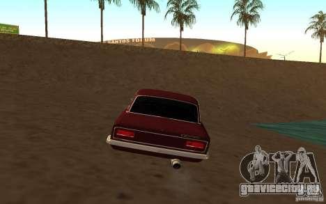 VAZ 2103 для GTA San Andreas вид сзади слева
