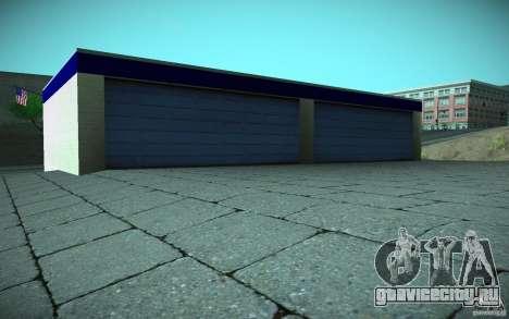 HD Garage in Doherty для GTA San Andreas седьмой скриншот