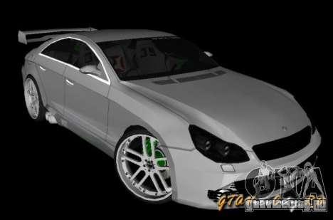 Mercedes-Benz CLS500 The GreenFairy TUNING для GTA San Andreas вид слева
