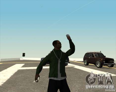 Разные анимации для GTA San Andreas шестой скриншот