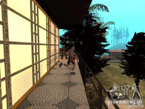 Ретекстурированный дом CJея V1 для GTA San Andreas шестой скриншот