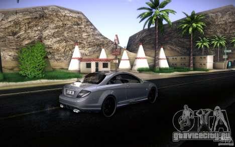 Mercedes Benz CL65 AMG для GTA San Andreas вид сбоку
