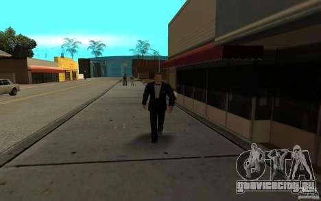 Агент 007 для GTA San Andreas седьмой скриншот