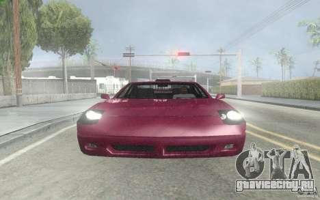 New Alpha для GTA San Andreas вид слева