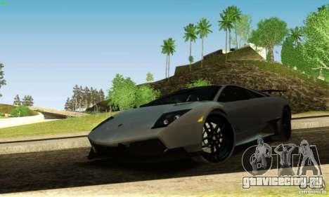 Lamborghini Murcielago LP 670-4 SV для GTA San Andreas вид сбоку