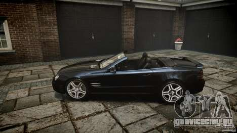 Mercedes Benz SL65 AMG для GTA 4 вид сбоку