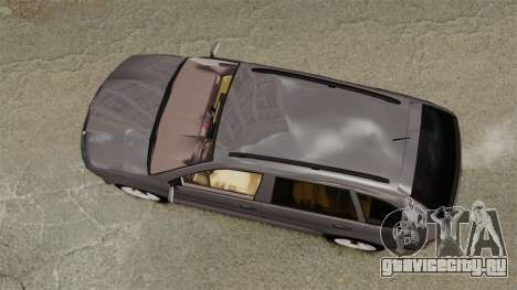 Skoda Fabia Combi для GTA 4 вид справа
