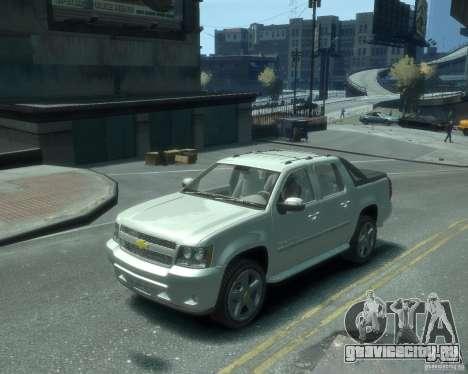 Chevrolet Avalanche Version Pack 1.0 для GTA 4