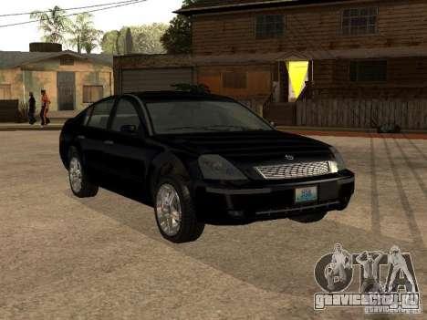 Nissan Teana для GTA San Andreas вид изнутри