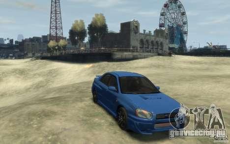 Subaru Impreza WRX STi v1 2004 для GTA 4