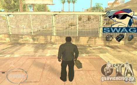 C-HUD Pony SWAG для GTA San Andreas третий скриншот
