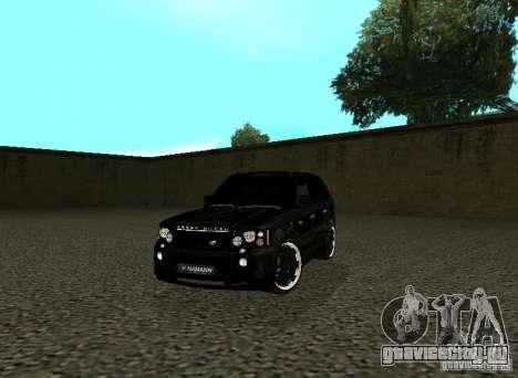 Land Rover Range Rover Sport Hamann для GTA San Andreas