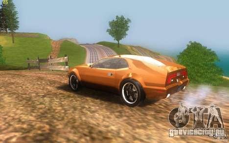 AMC Javelin 2010 для GTA San Andreas вид слева