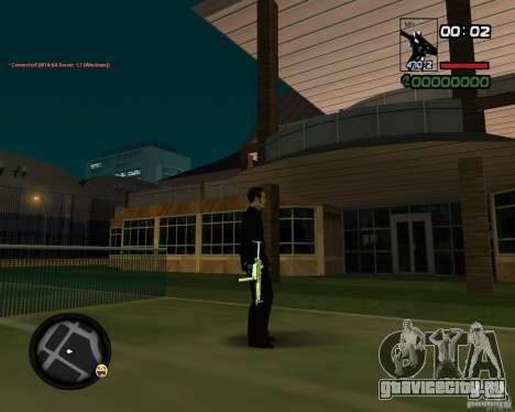 MP5 Gold для GTA San Andreas третий скриншот