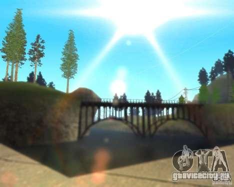 Real World ENBSeries v3.0 для GTA San Andreas третий скриншот