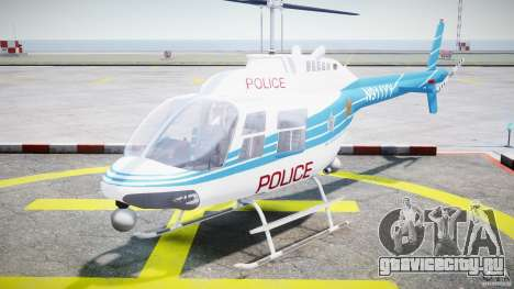 Bell 206 B - Chicago Police Helicopter для GTA 4