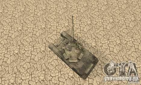 Танк Т-90 Владимир для GTA San Andreas вид сзади