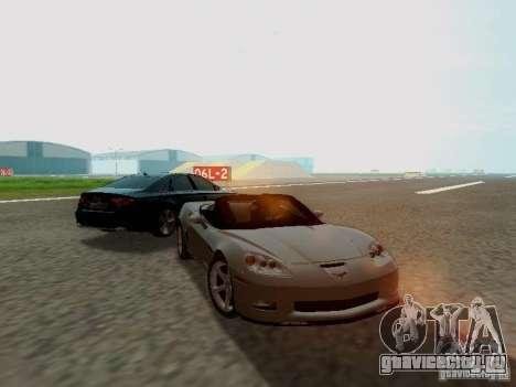 Chevrolet Corvette C6 GS Convertible 2012 для GTA San Andreas вид справа