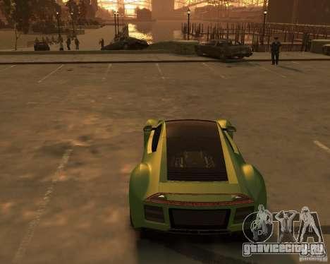 2010 Saleen S5S Raptor для GTA 4 вид справа