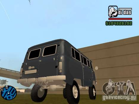 УАЗ 2206 БПАН для GTA San Andreas вид слева