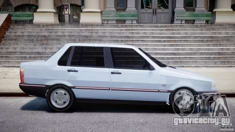 Fiat Duna 1.6 SCL [Beta] для GTA 4 вид изнутри
