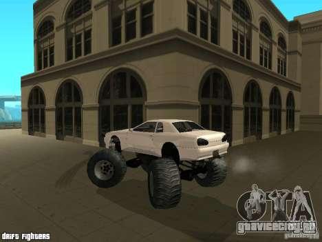 Elegy Monster для GTA San Andreas вид сбоку