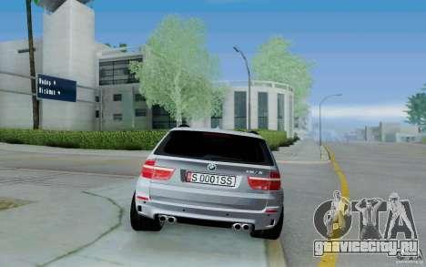 BMW X5M E70 для GTA San Andreas вид справа