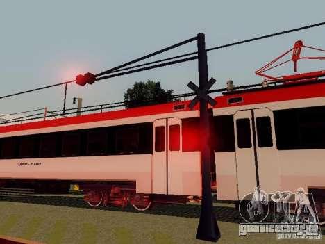 ЖД переезд RUS V 2.0 для GTA San Andreas пятый скриншот