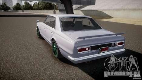 Nissan Skyline GC10 2000 GT v1.1 для GTA 4 вид сбоку