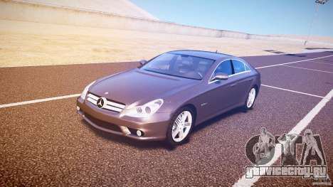 Mercedes-Benz CLS 63 для GTA 4 вид слева