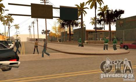Autumn Mod v3.5Lite для GTA San Andreas второй скриншот