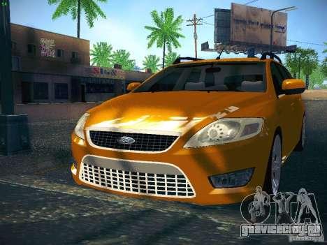 Ford Mondeo Sportbreak для GTA San Andreas вид слева