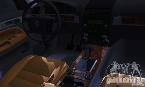 Volkswagen Touareg для GTA San Andreas вид сбоку