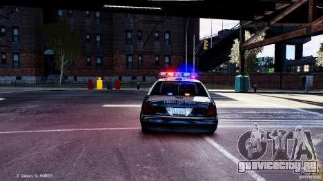 CVPI LCPD San Diego Police Department для GTA 4 вид справа
